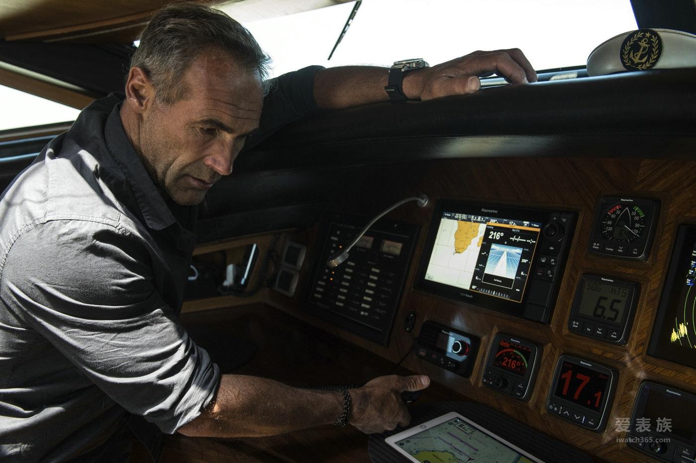 MIKE HORN 与 沛纳海 POLE2POLE远征之旅启程