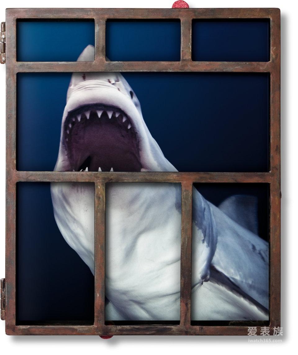 """没有买卖就没有杀害——万国Aquatimer海洋系列""""鲨鱼""""特别限量款计时腕表"""