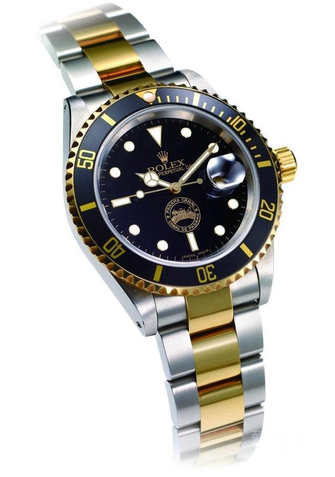 Rolex Submariner 16613劳力士潜航者巴拿马运河限量纪念表