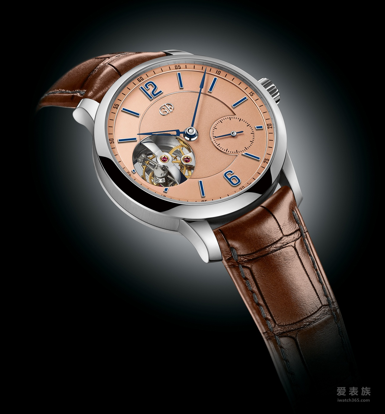 GREUBEL FORSEY 高珀富斯 TOURBILLON 24 SECONDES VISION腕表换上铂金新装