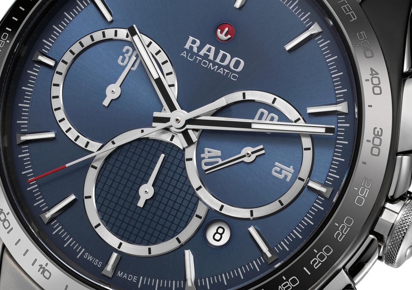 全新RADO 瑞士雷达表HyperChrome 皓星系列制胜时刻限量版腕表闪亮登场