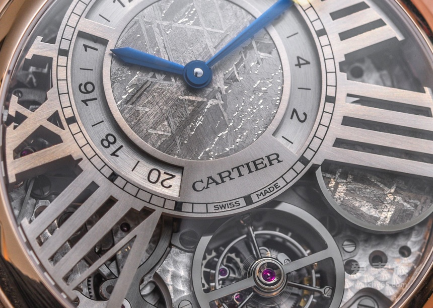 微观地月系统——卡地亚Rotonde de Cartier地球与月亮陀飞轮腕表