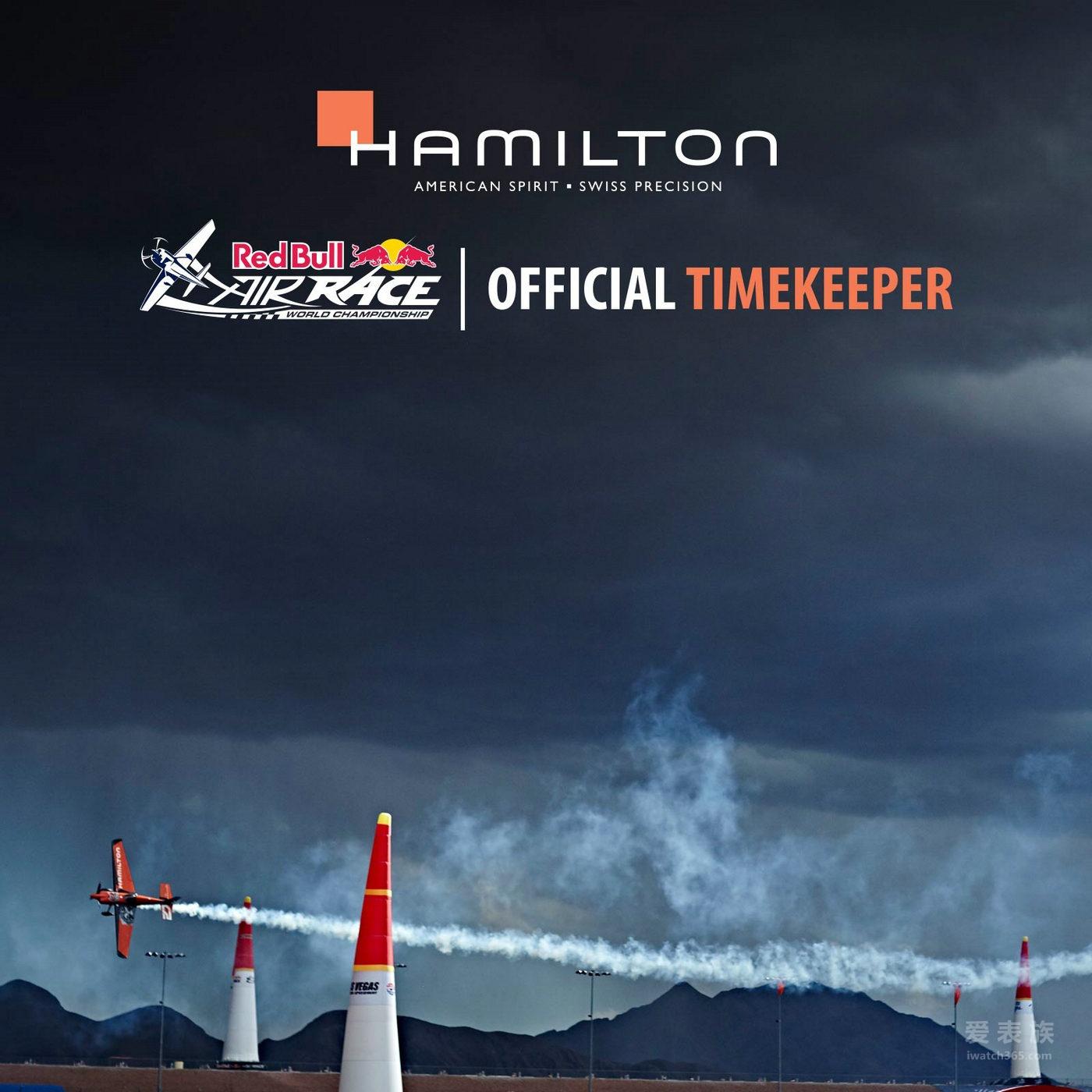 汉米尔顿担任红牛特技飞行世界锦标赛官方计时
