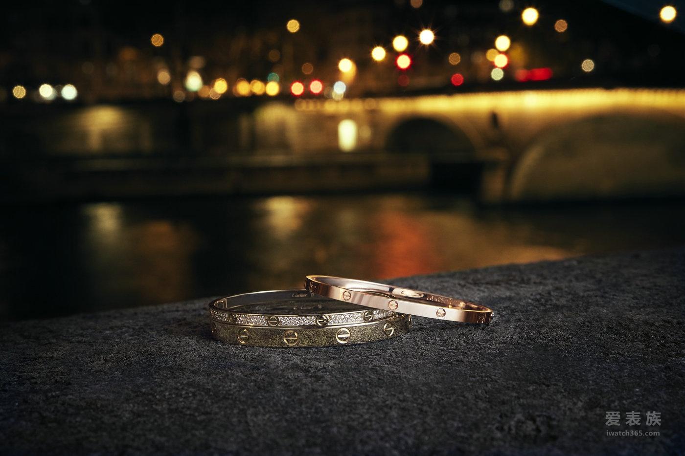 爱无止境,紧锁一生——2017卡地亚 LEVE系列全新力作浪漫发售