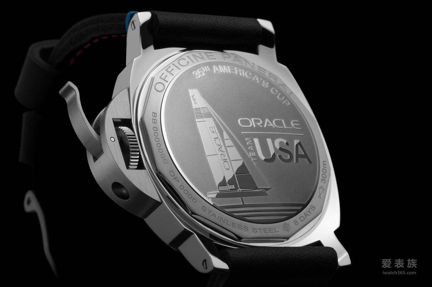 沛纳海Luminor系列8日动力储存精钢腕表PAM00724