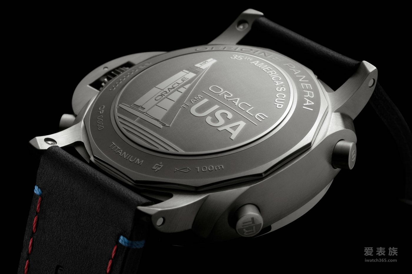 沛纳海Luminor 1950系列飞返计时钛金属自动腕表PAM00726