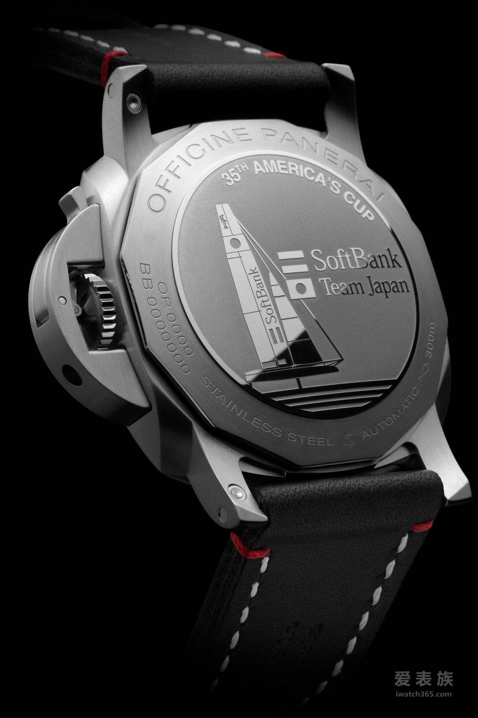 沛纳海Luminor 1950系列3日动力储存自动精钢腕表PAM00732