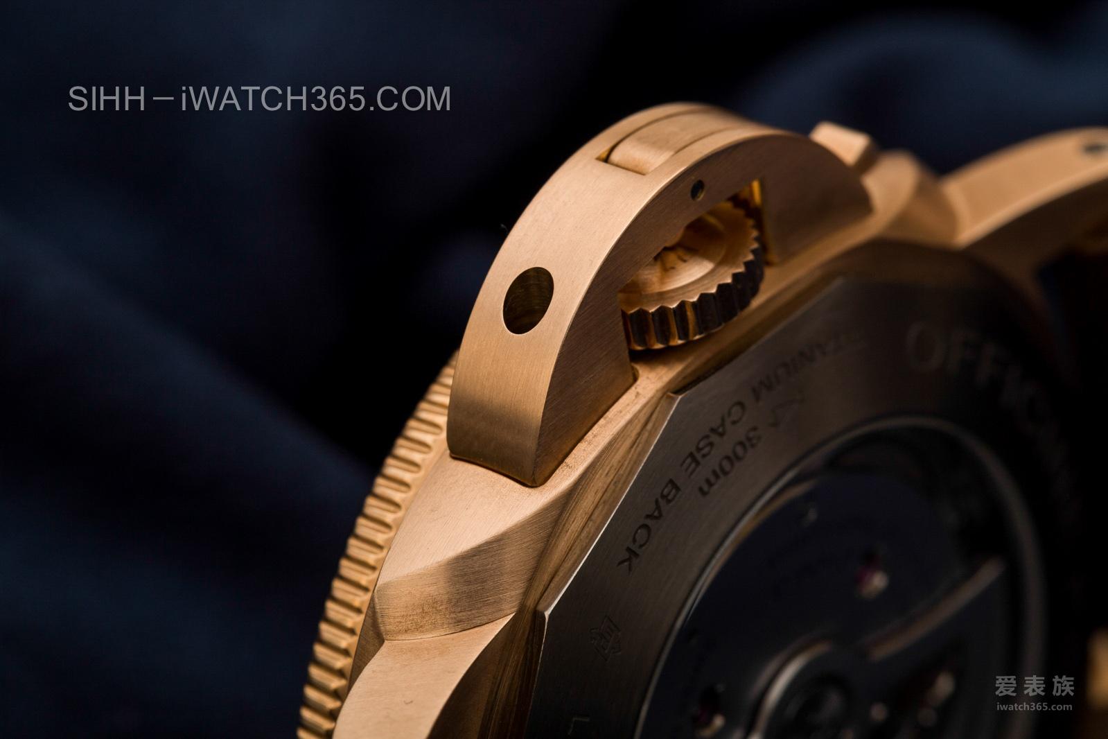 食言而肥的胖大海——沛纳海Luminor系列3日链青铜自动潜水腕表PAM 671