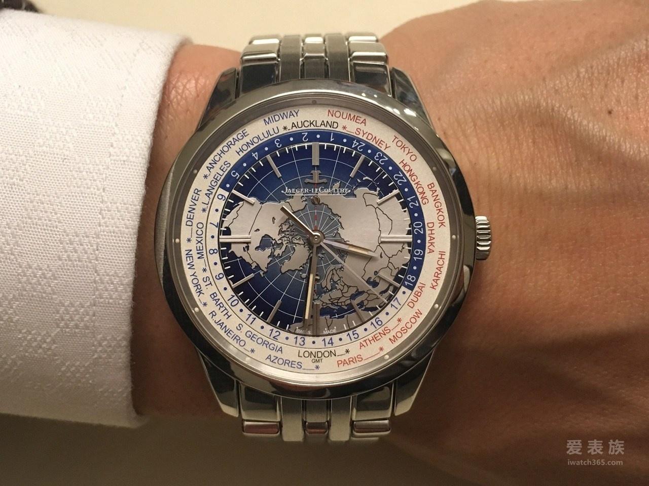 积家Geophysic地球物理天文台腕表系列Q8108120世界时