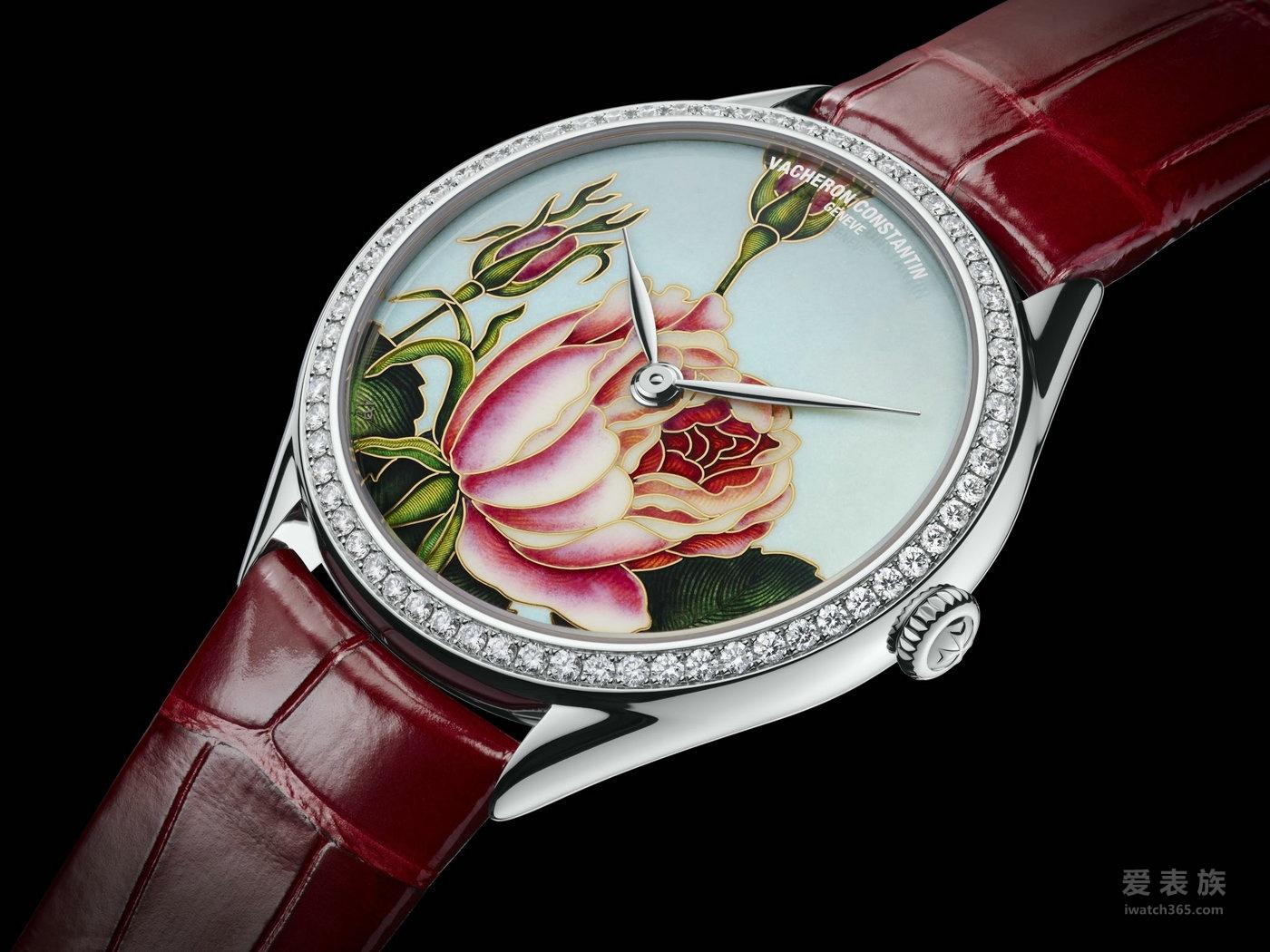 江诗丹顿Métiers d'Art艺术大师系列千叶玫瑰腕表82550/000G-9919