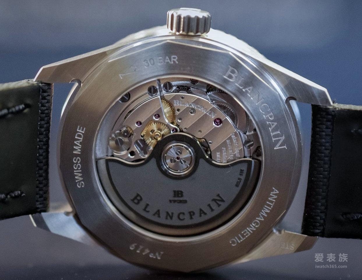 宝珀五十噚系列Bathyscaphe 5100-1140-O52A小尺寸38mm腕表