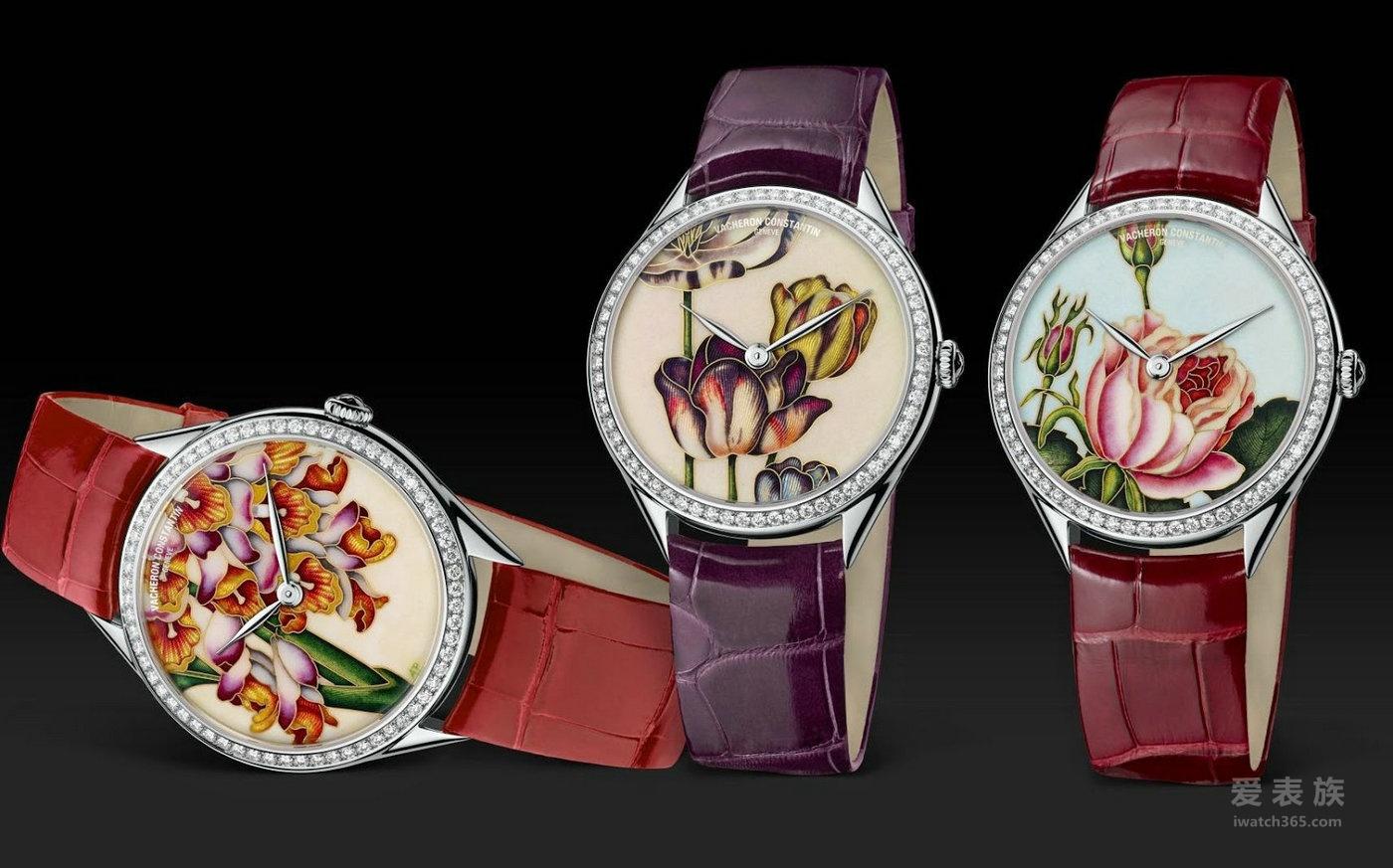江诗丹顿艺术大师系列圣母百合高级珠宝腕表82650/000G-9853