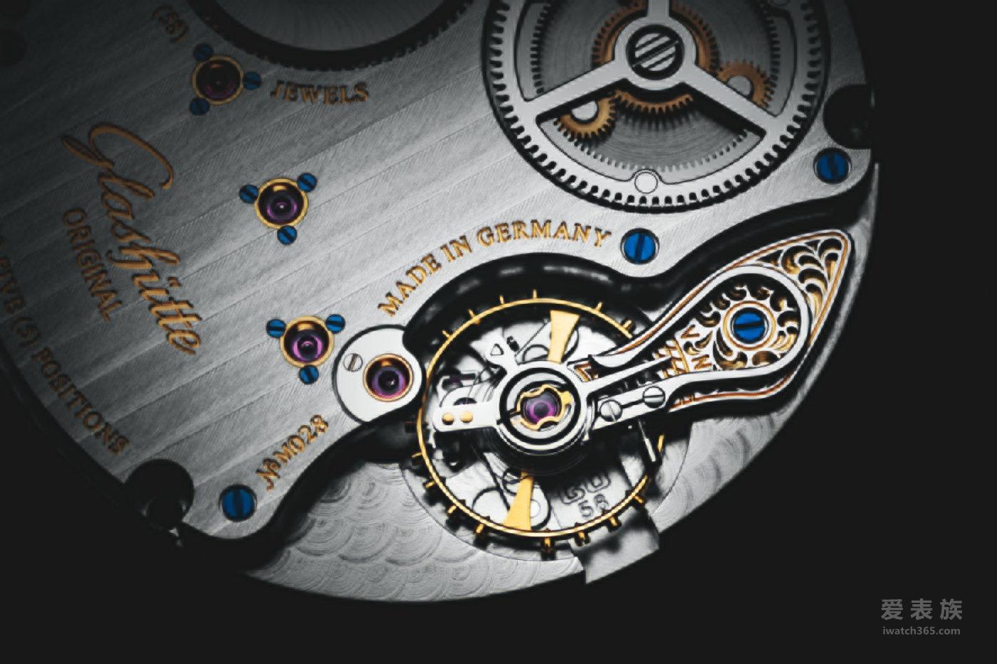 格拉苏蒂以简约而大方的设计获得表迷的认可