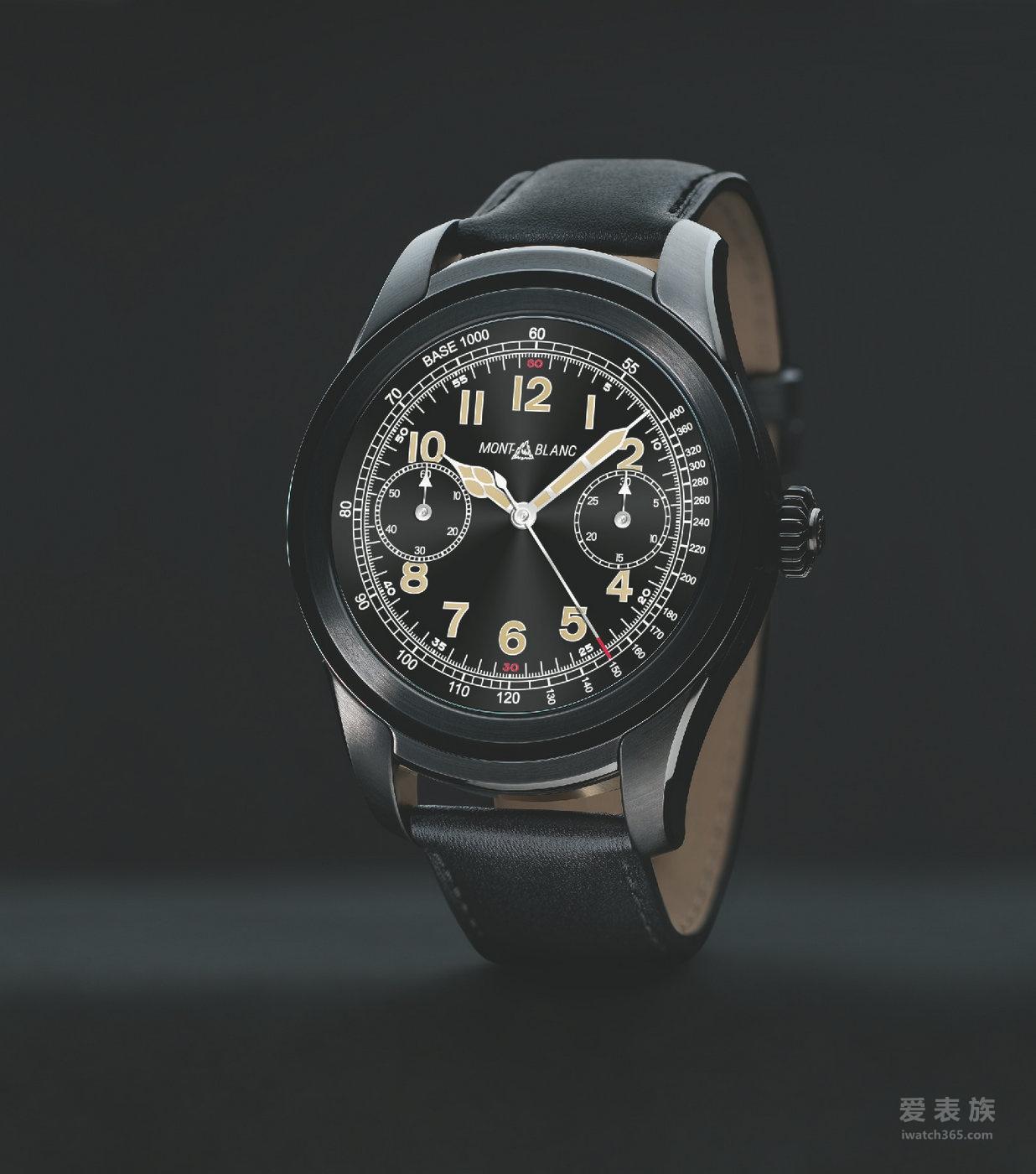 数字科技奢华呈现 万宝龙Summit智能腕表——瑞士高级制表的数字化新纪元
