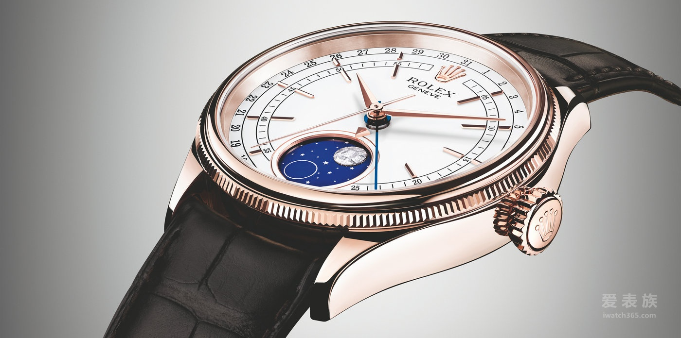 劳力士切利尼系列50535-0002月相型自动腕表