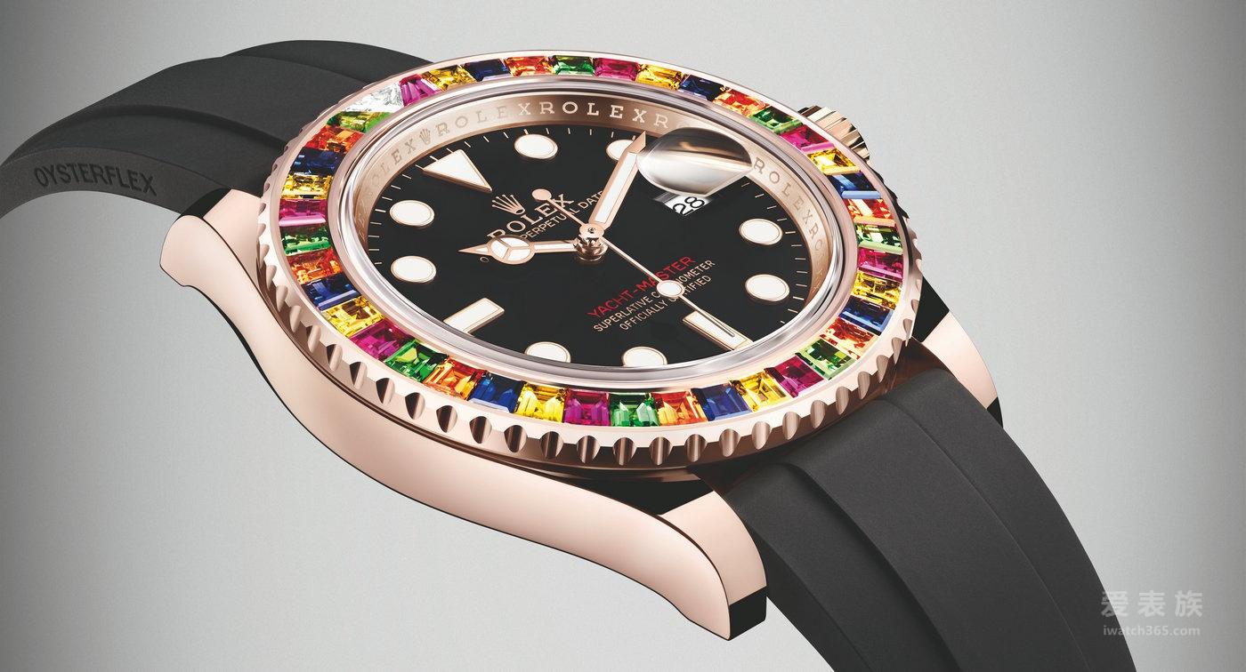 劳力士游艇名仕型系列116695SATS宝石款自动腕表