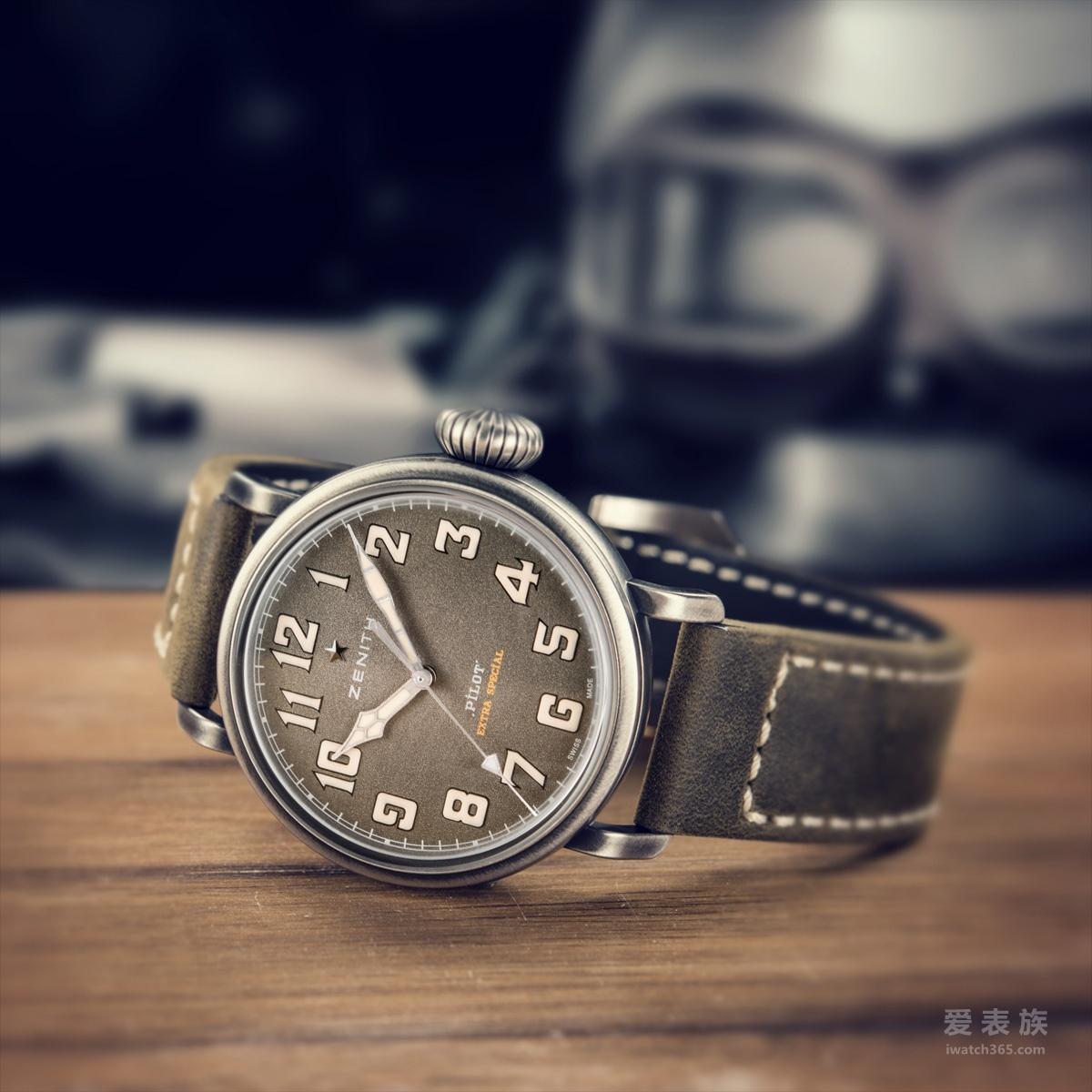 真力时飞行员系列Type 20特别款11.1940.679/63.C800腕表