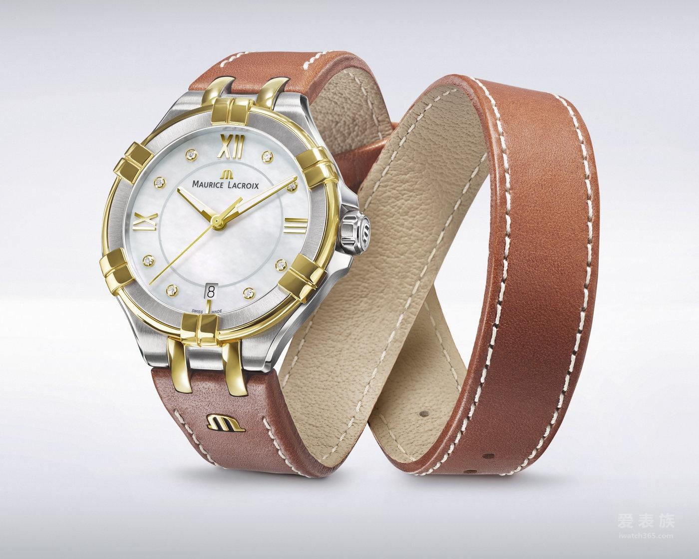 2017巴塞尔钟表展:艾美AIKON 系列女装腕表,30 毫米与 35 毫米表款