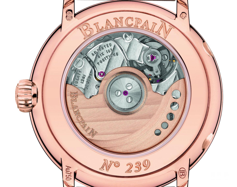 宝珀Villeret系列6106-2987-55A日期月相女装腕表
