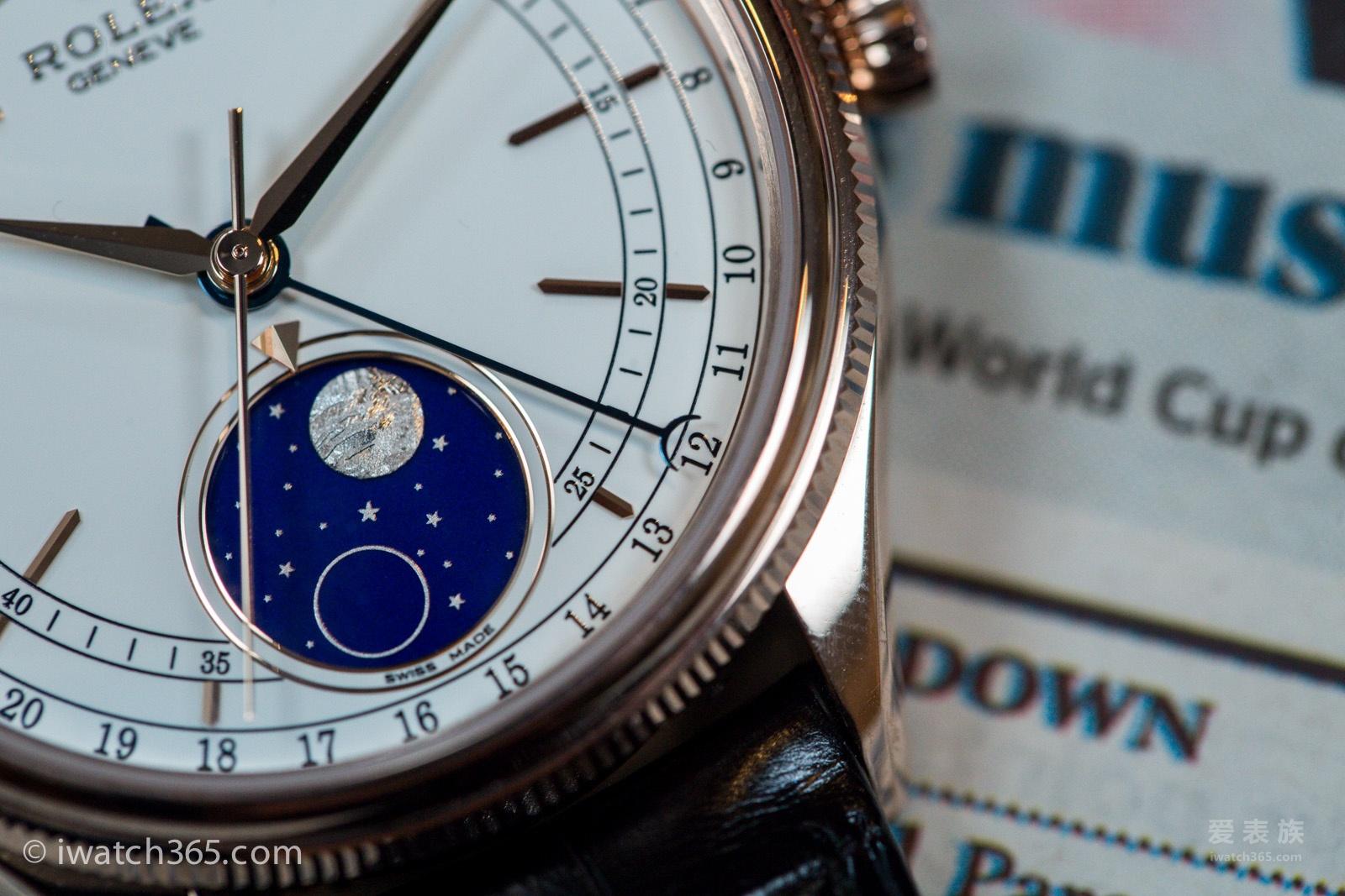 Comeback 70 anni dopo che l'orologio Rolex Cellini fase lunare --- Moonphase 50535