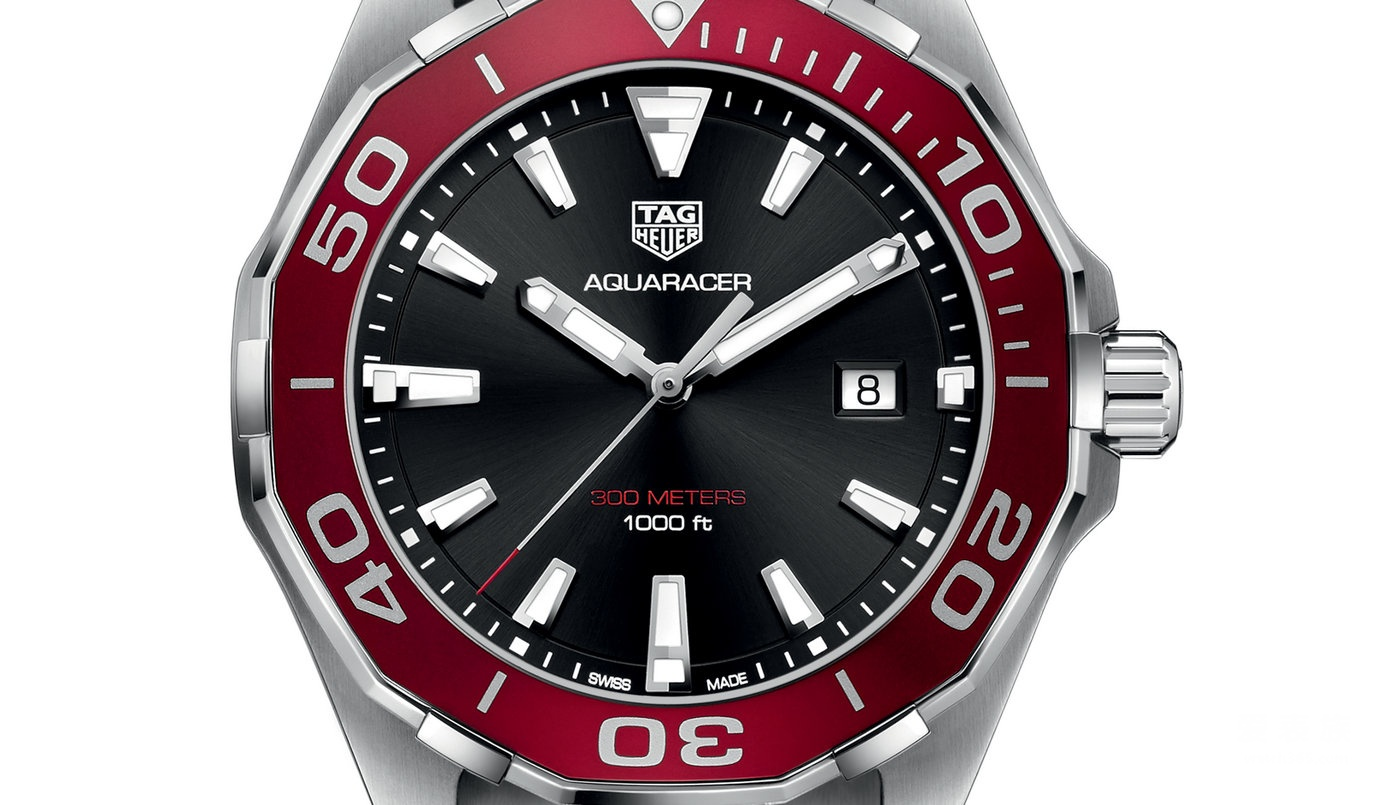 泰格豪雅竞潜Aquaracer系列WAY101B.BA0746石英腕表