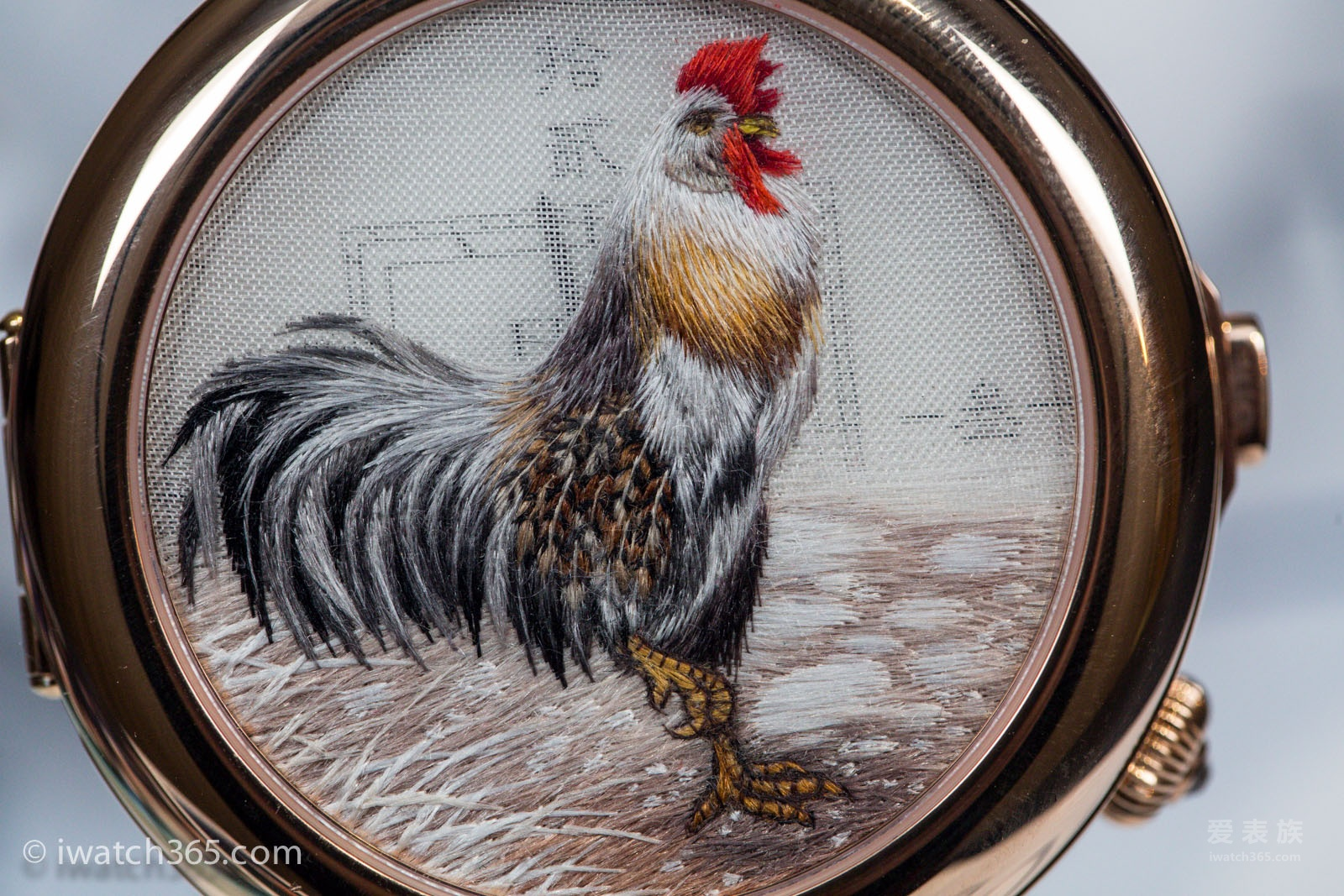 飞亚达艺系列鸡年限量特别款腕表