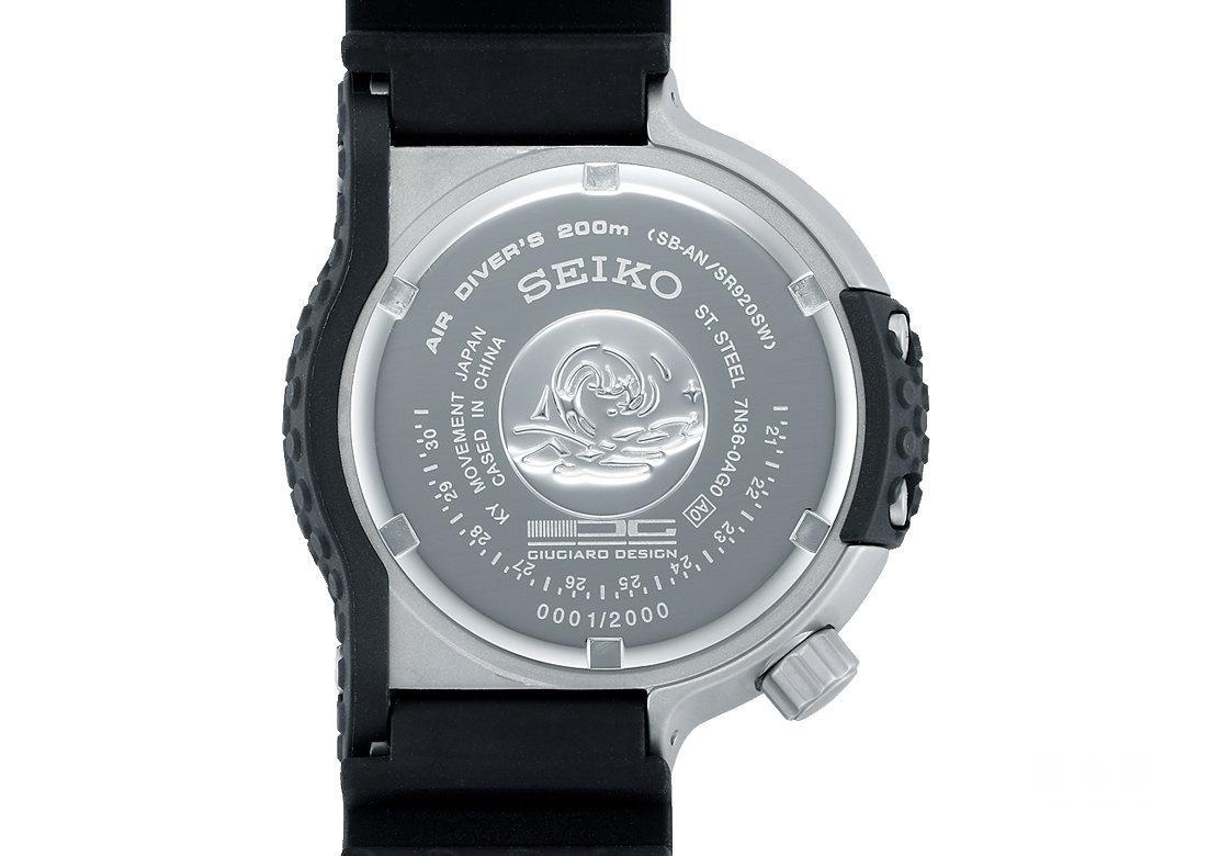 精工Prospex系列SBEE001乔治亚罗限量版潜水腕表