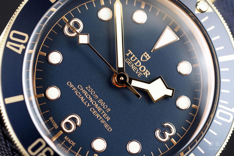 五B侠驾到——帝舵启承碧湾系列Black Bay Bronze Blue宝齐莱特别款腕表