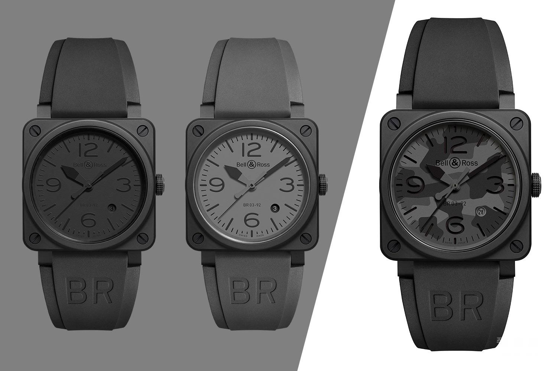伪装大师——全新柏莱士BR03-92 Black Camo黑色迷彩腕表