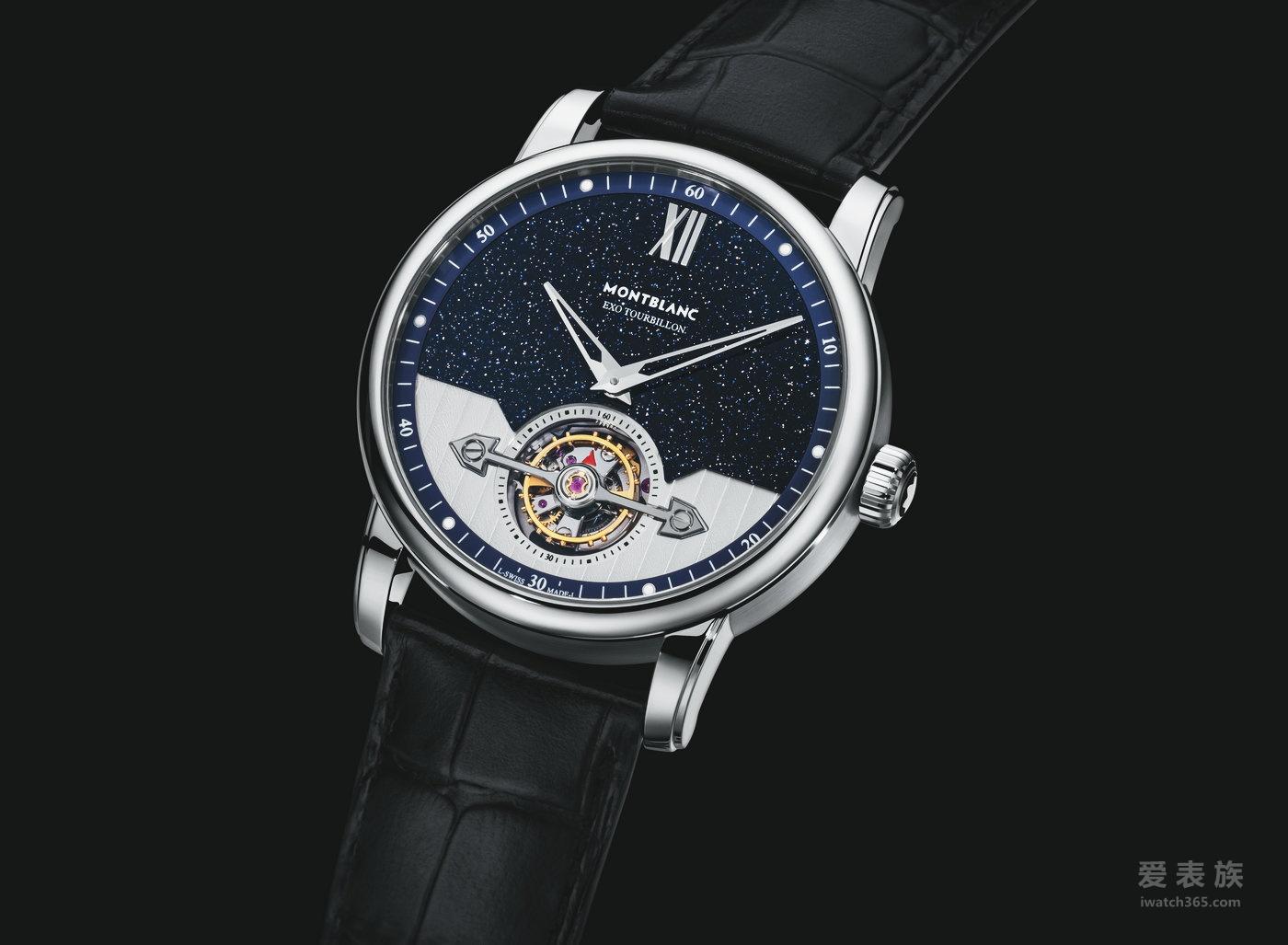 优雅经典 非凡呈现 全新万宝龙4810系列外置框架陀飞轮超薄腕表及两地时腕表