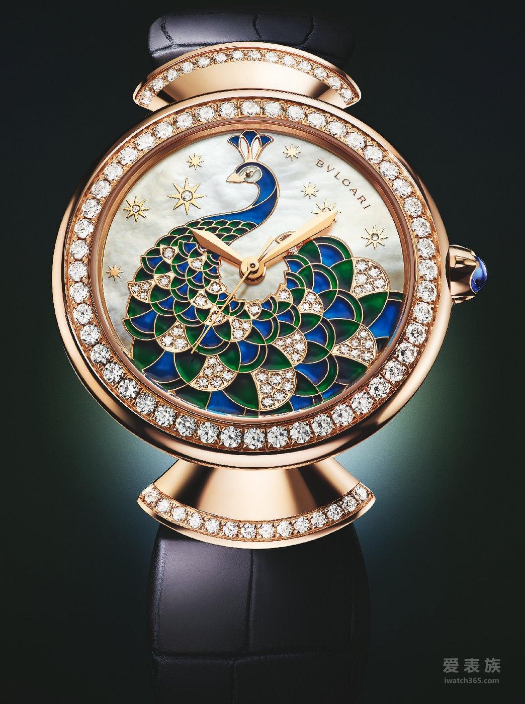 BVLGARI寶格麗DIVAS' DREAM系列腕表