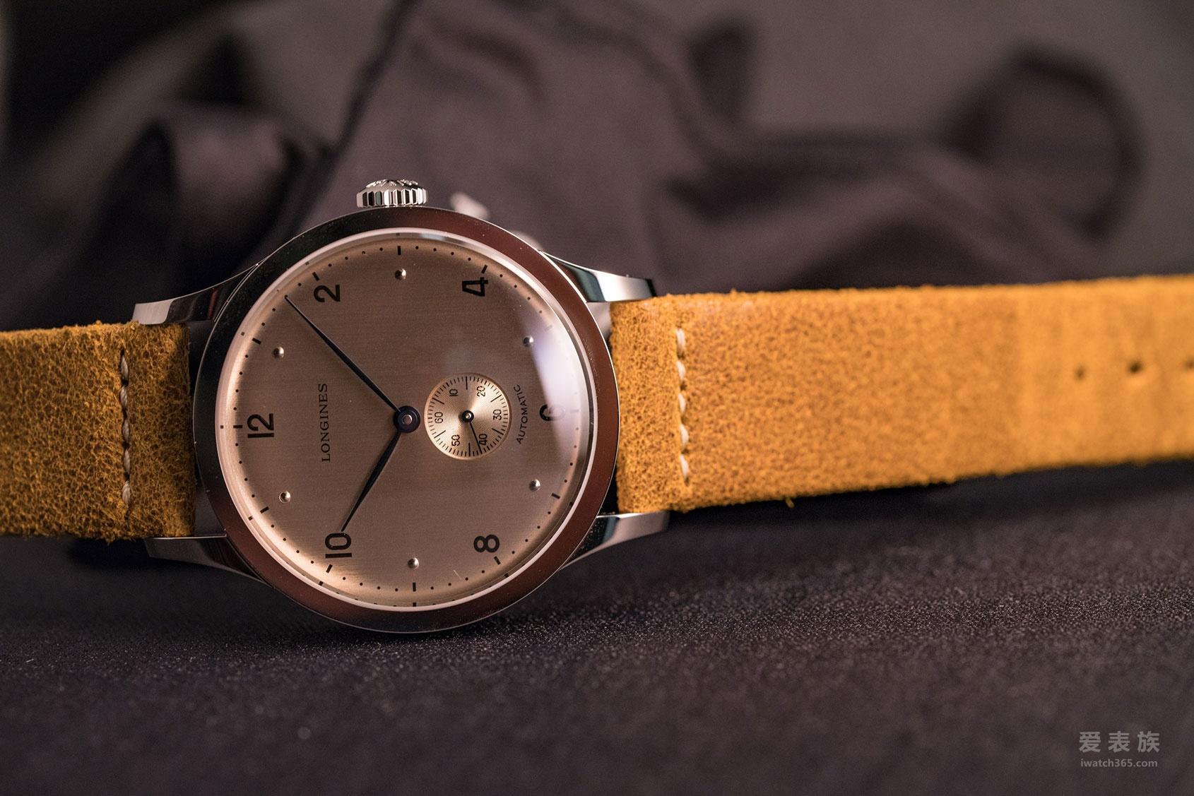 低调的小黑马——浪琴经典复古系列1945小三针腕表