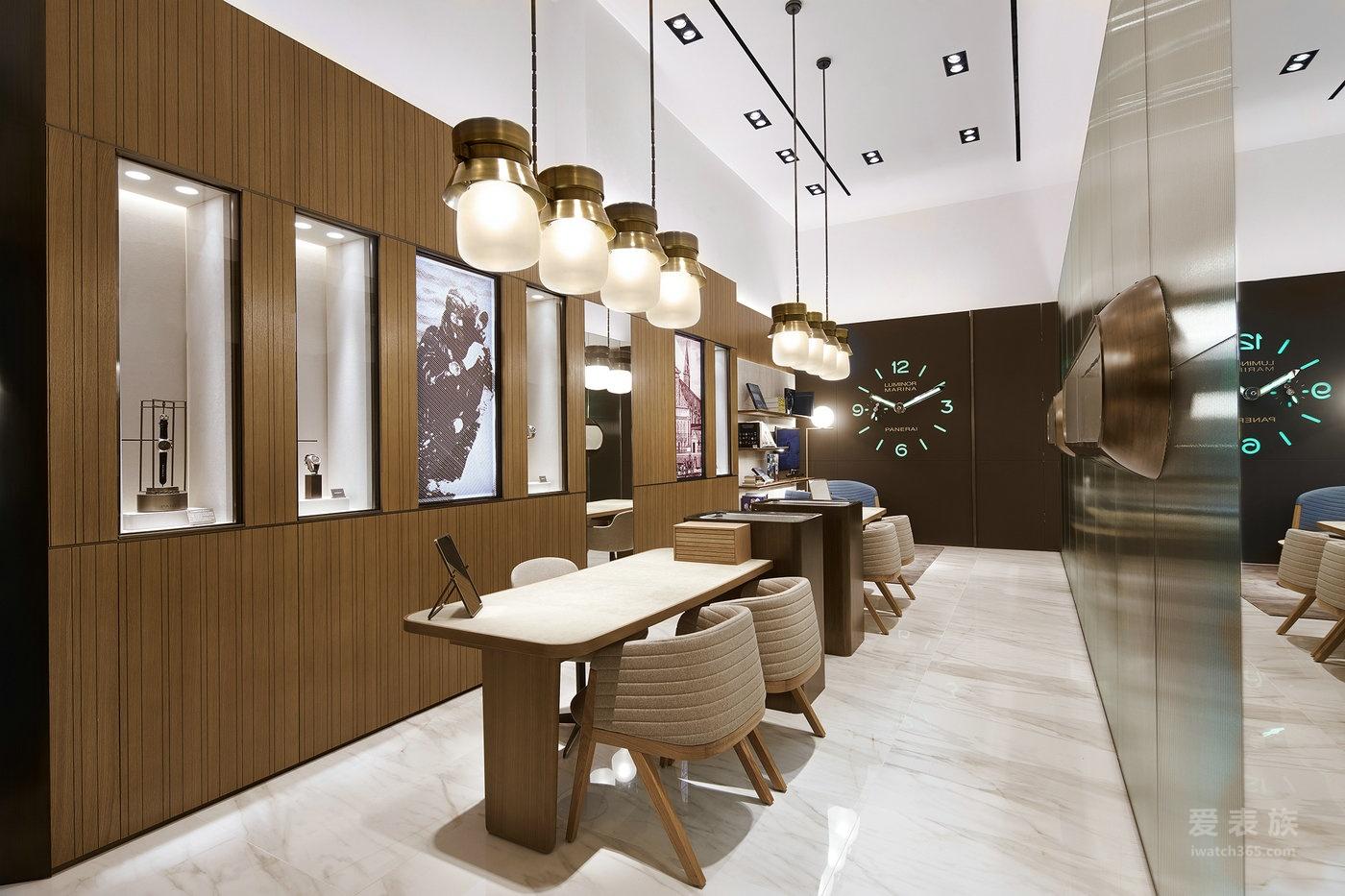 沛纳海重新揭幕曼谷暹罗百乐宫专卖店