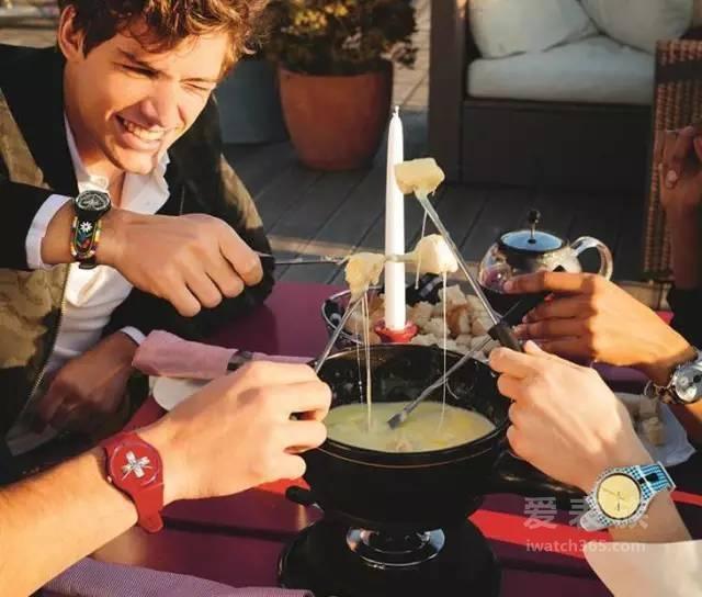 8•1献礼瑞士国庆 Swatch 100%瑞士情结