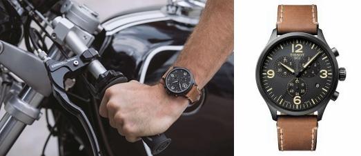 这一刻 形格兼具 天梭速驰系列腕表