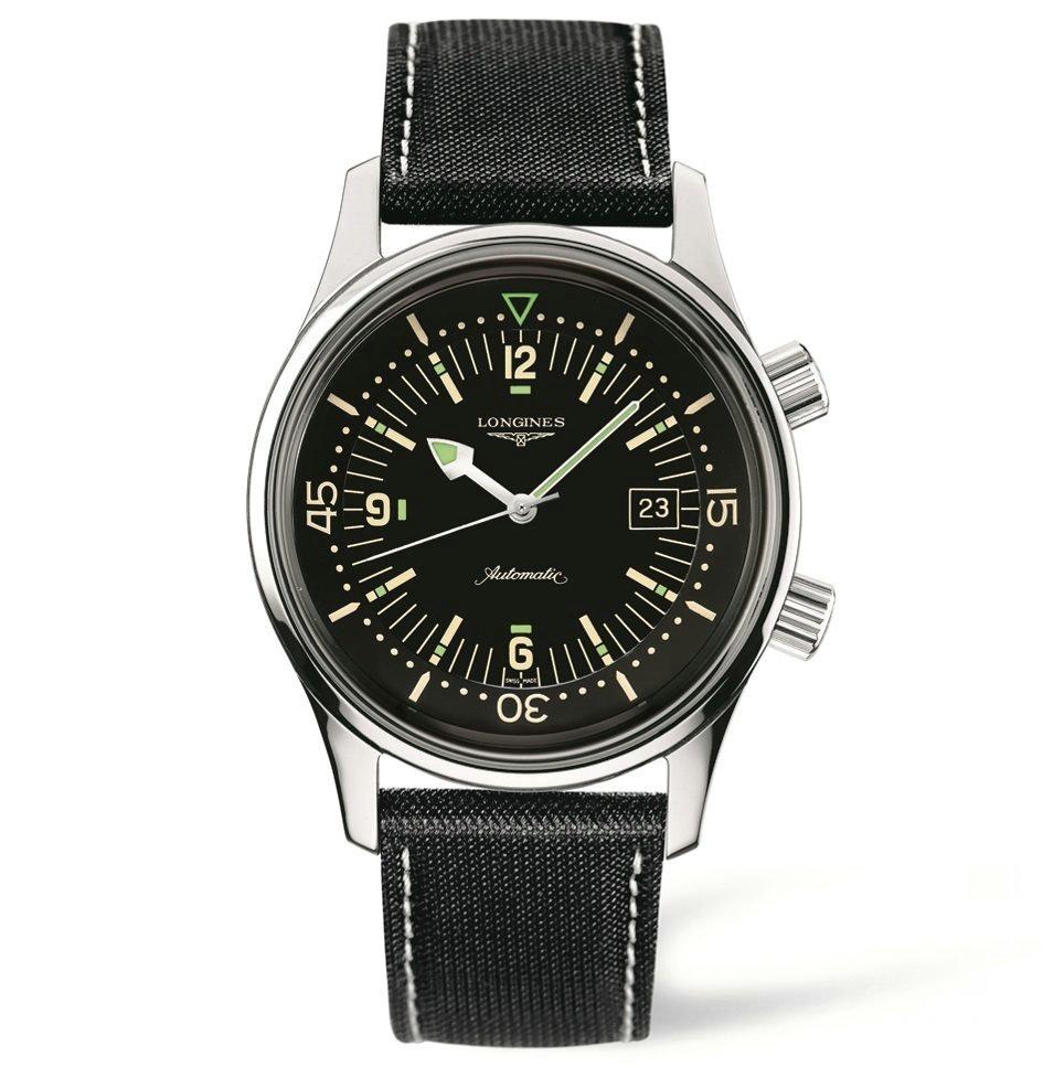 融合精准表现与优雅态度 浪琴表推出经典复刻系列传奇潜水员腕表