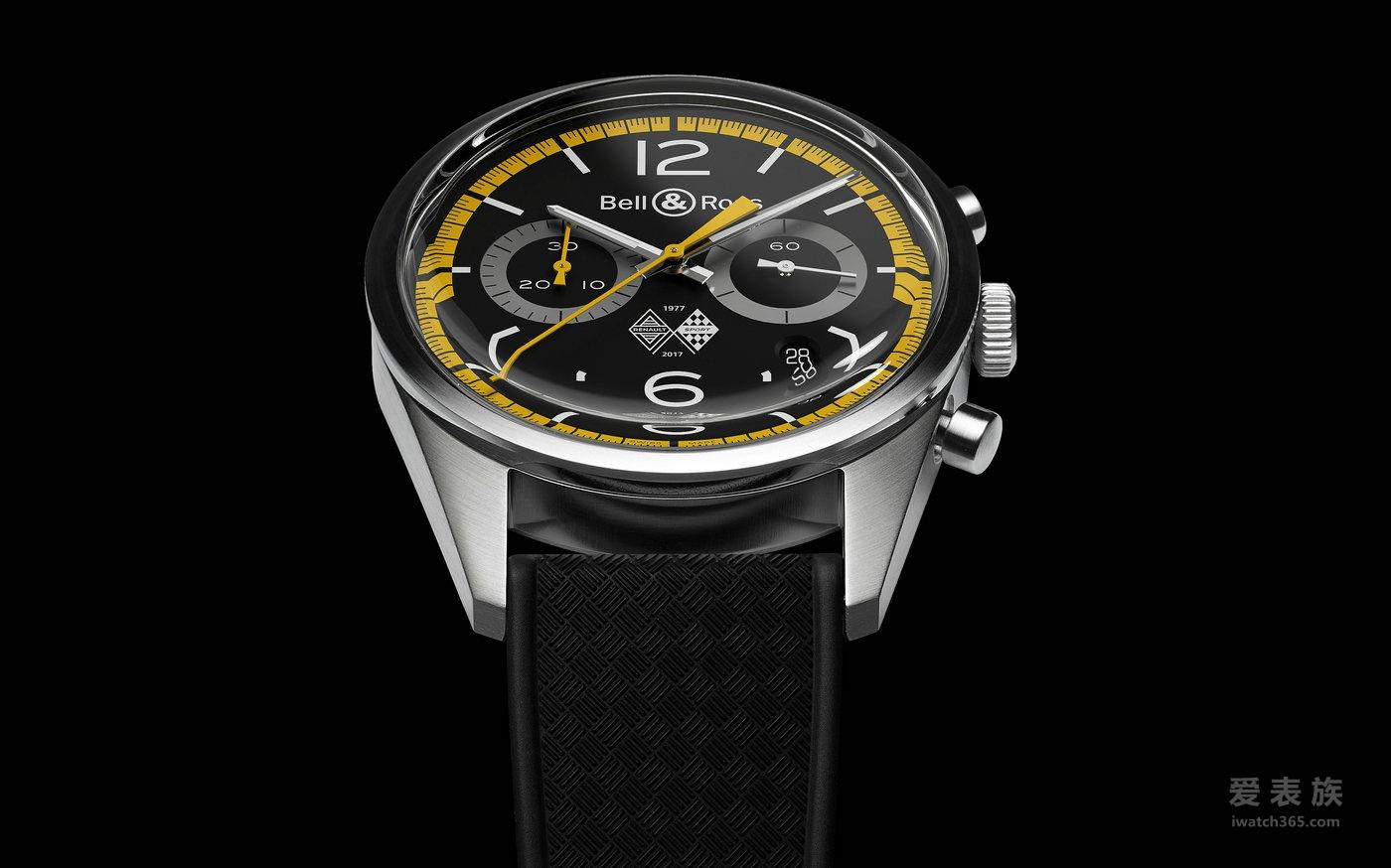 雷诺车队征战一级方程式40周年 Bell & Ross柏莱士全新限量BR126腕表