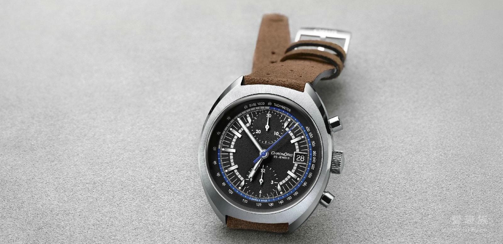 ORIS豪利时推出限量版Chronoris腕表,向F1威廉姆斯车队成立40周年致敬