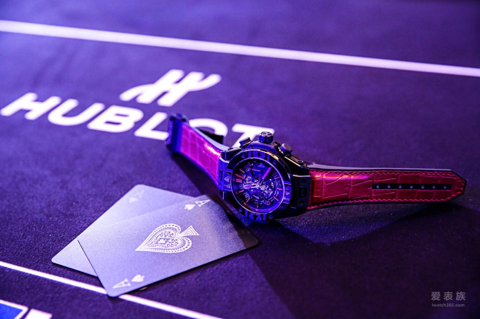 HUBLOT宇舶表Big Bang Unico 世界扑克巡回赛限量腕表