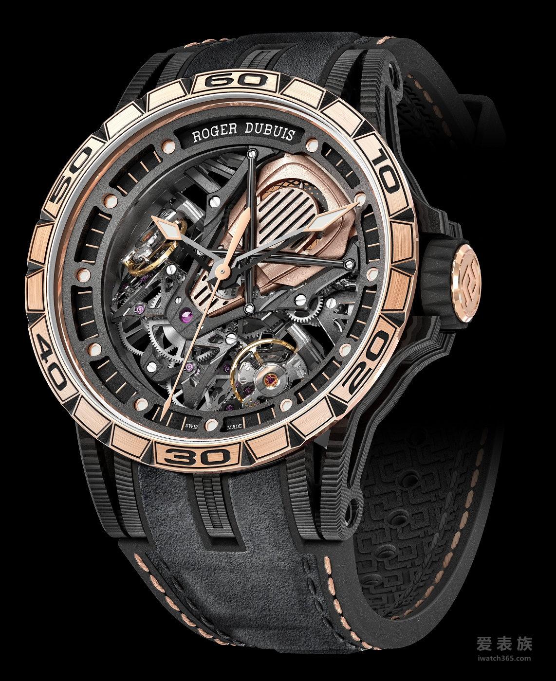 罗杰杜彼Excalibur系列RDDBEX0654男士腕表