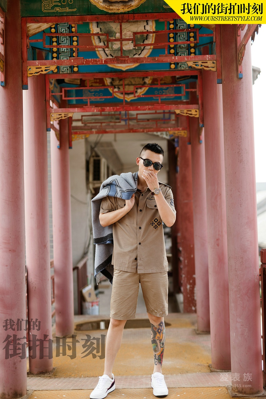 北京表:冯绍峰 欧豪演绎双面时尚之风
