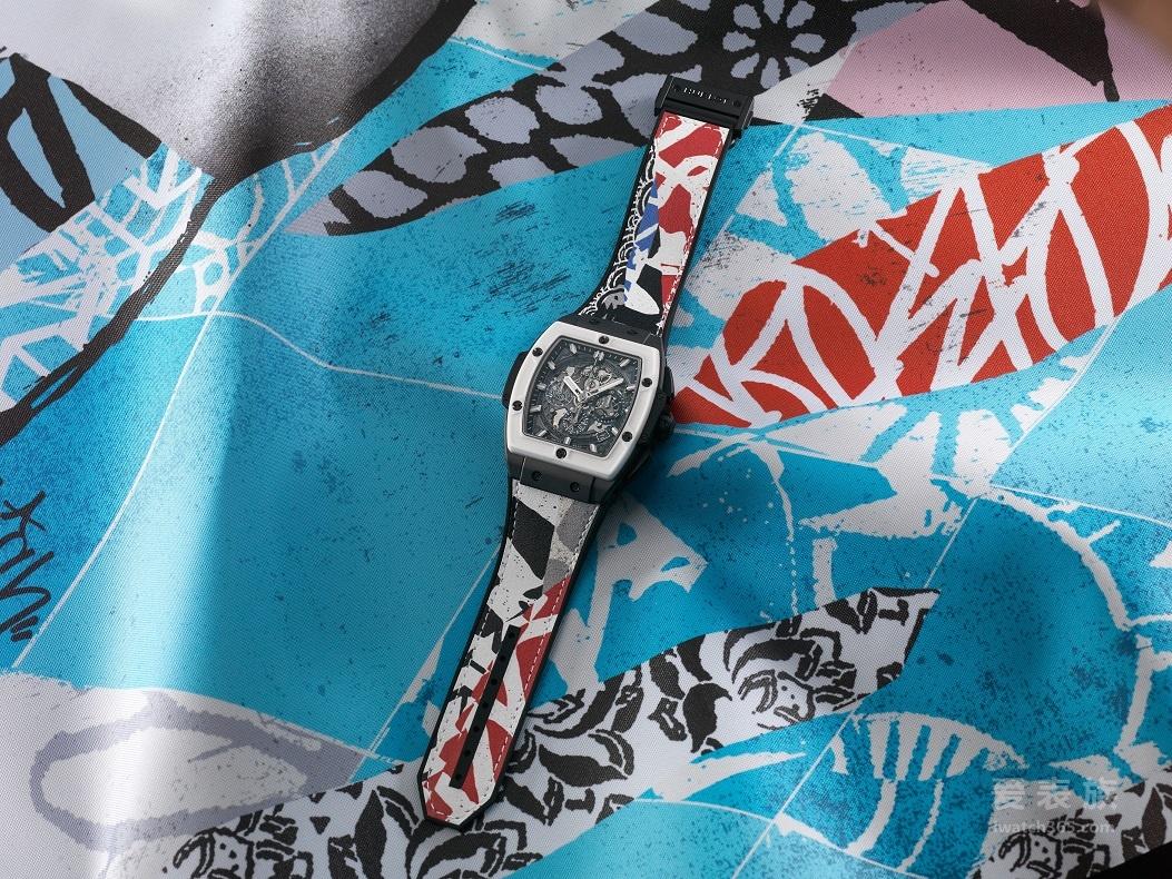 宇舶表融合美国东西海岸艺术家灵感推出全新艺术腕表!