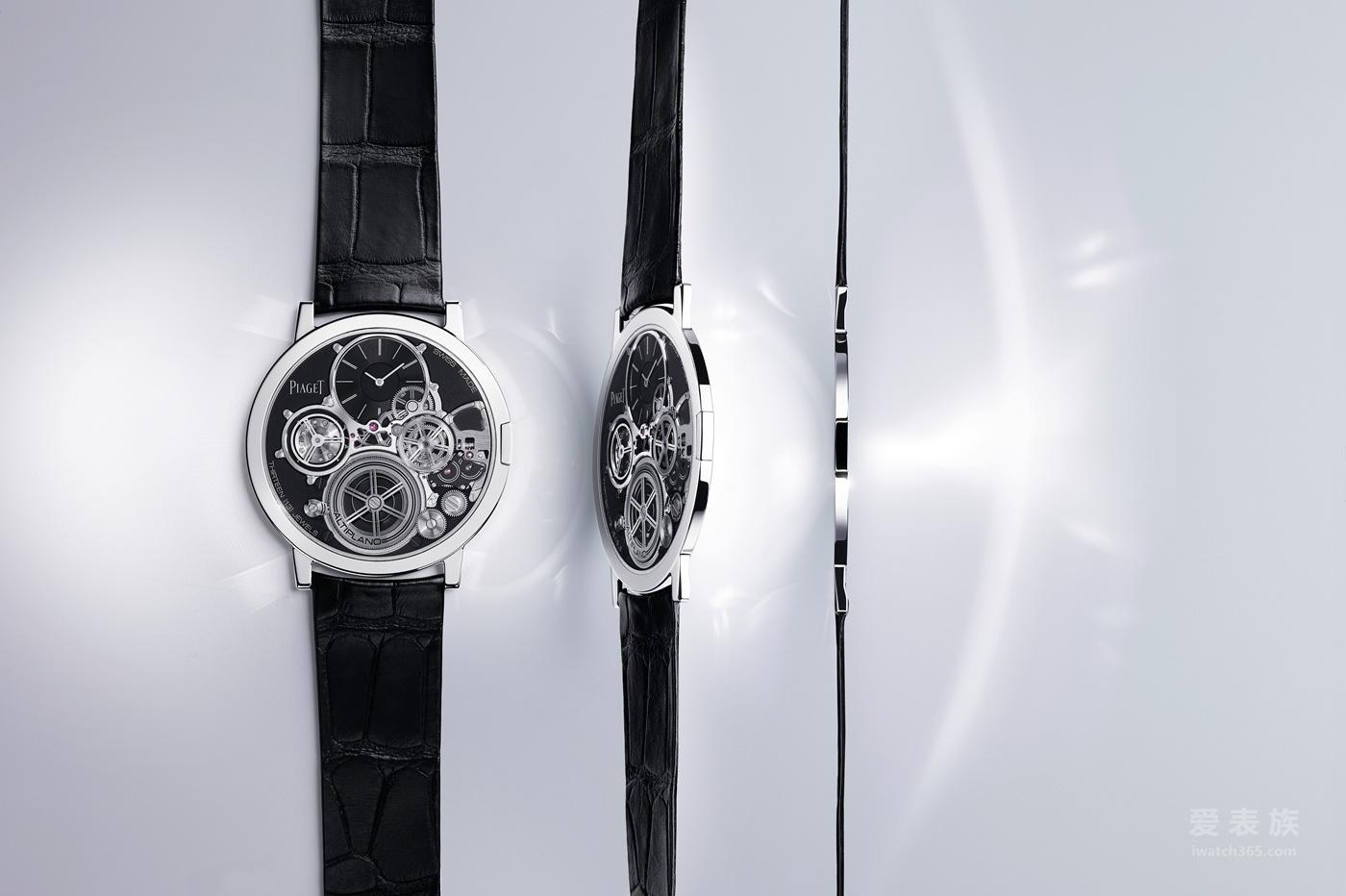 伯爵Altiplano Ultimate Concept腕表 2mm
