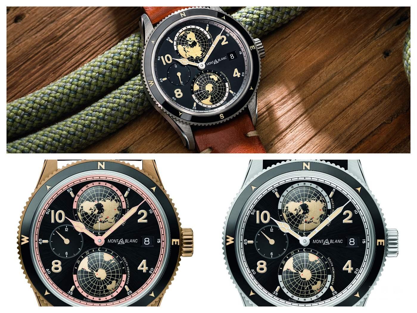 全新万宝龙1858系列腕表