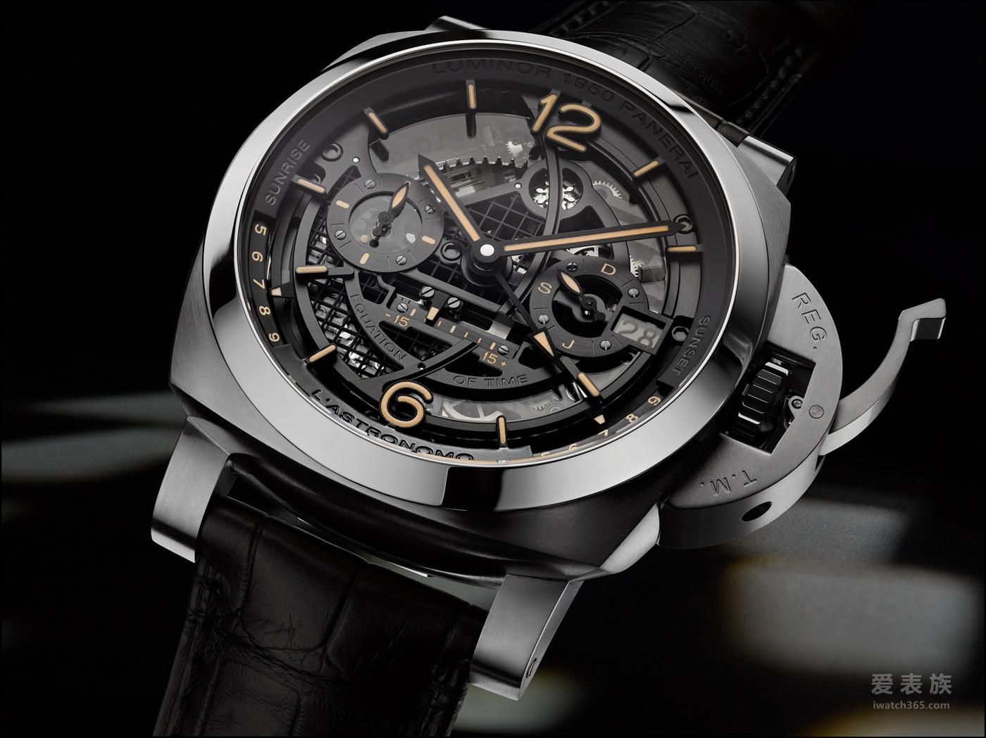 Luminor 1950 Tourbillon GMT 腕表