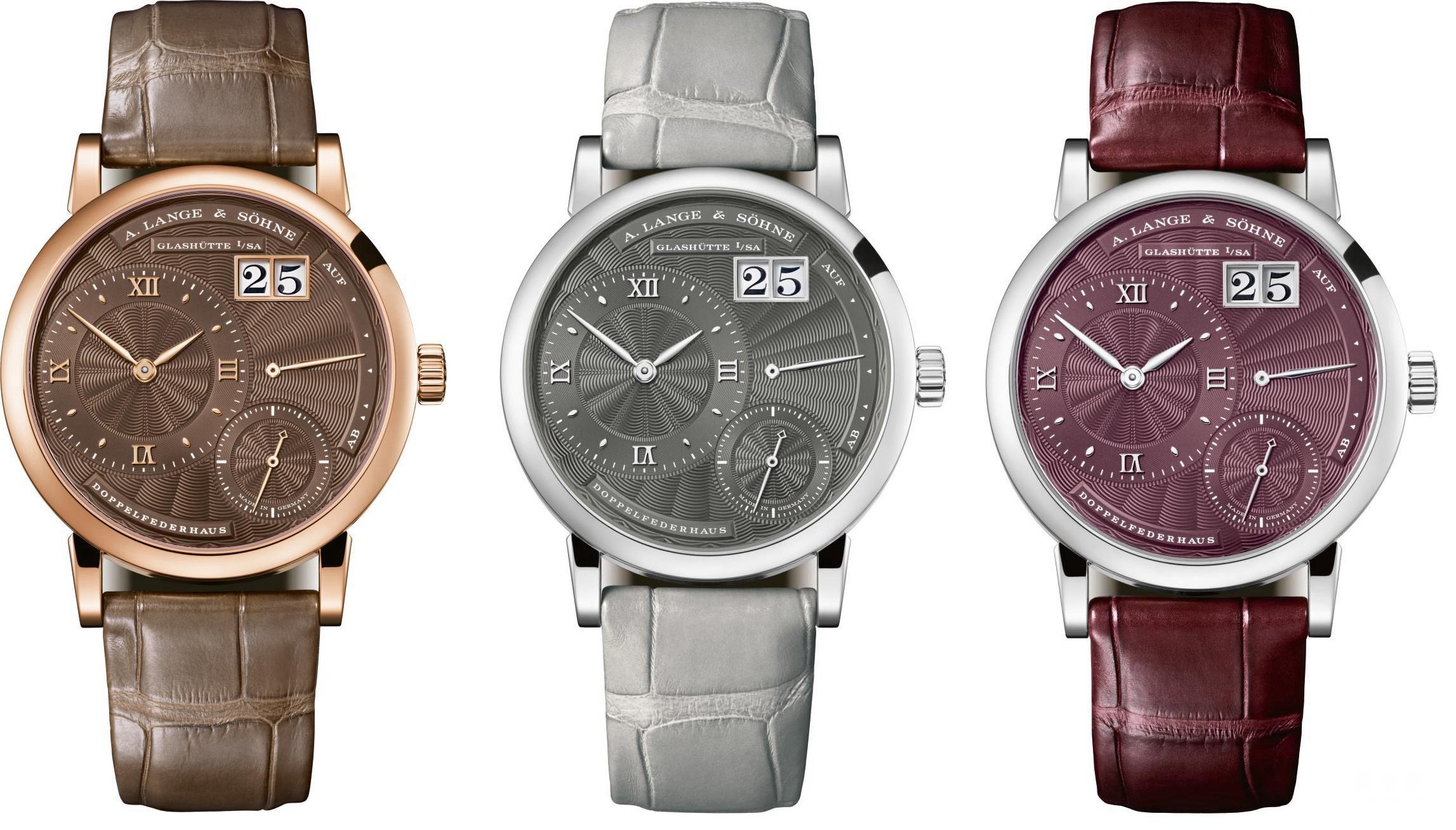 【Little Lange 1一款独特腕表,三种女性气质