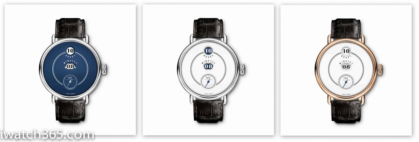 【SIHH2018】IWC万国表隆重推出150周年纪念特别版数字显示机械腕表