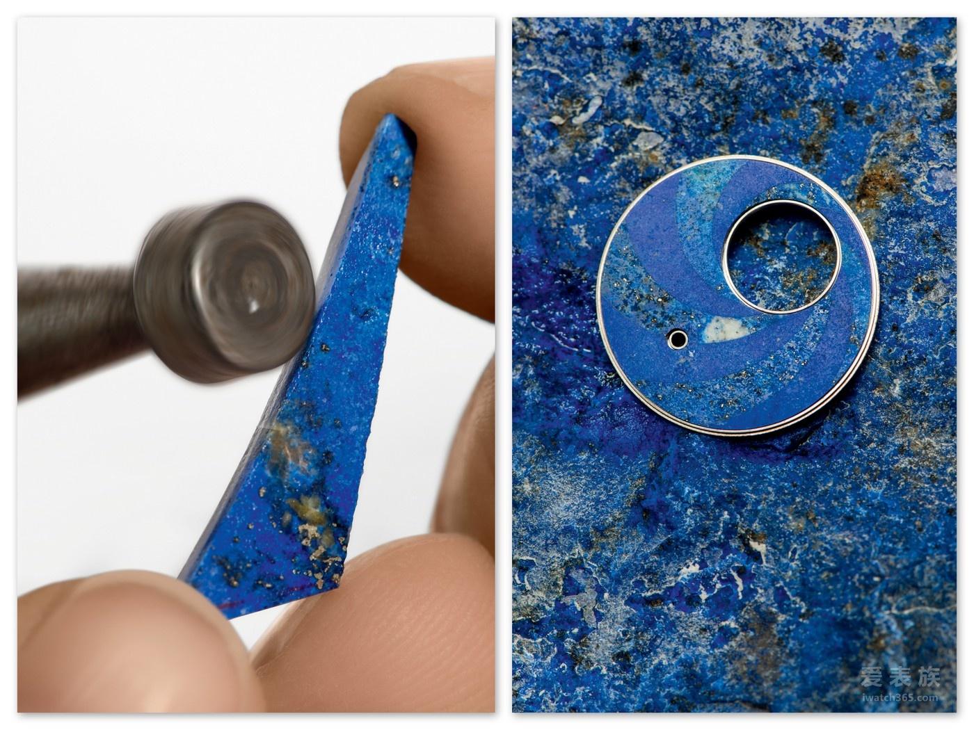 【SIHH2018】伯爵Métiers d'Art系列 Altiplano宝石细工镶嵌工艺陀飞轮 雕琢华丽色彩