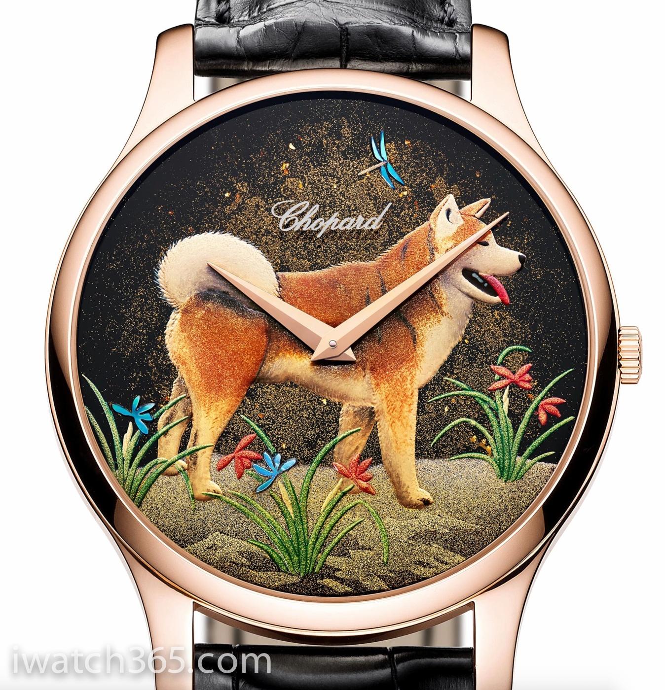 中国戊戌狗年】萧邦Chopard推出2018农历狗年L.U.C XP莳绘限量腕表