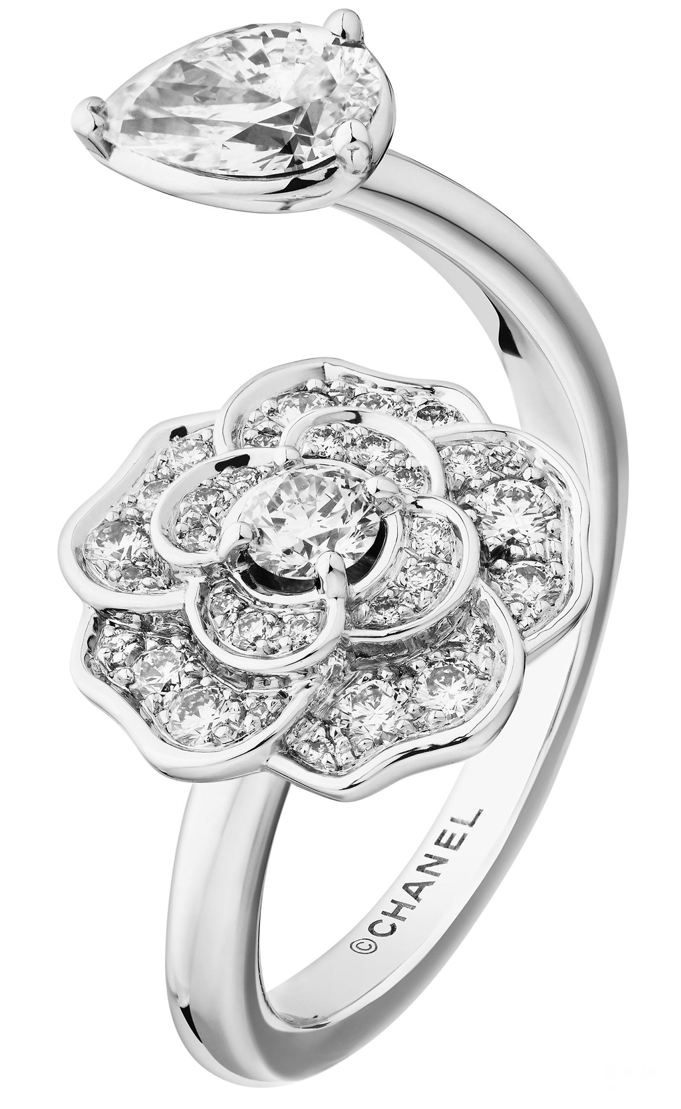 香奈儿高级珠宝BOUTON DE CAMELIA系列新品